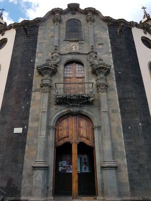 Iglesia de Nuestra Señora de la Concepción, Detail der Ostfassade