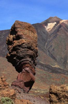 Roque Cinchado (Dedo de Dios), der markanteste Felsen von Los Roques