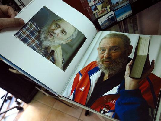 Fidel Castro, Büchermarkt auf der Plaza de Armas