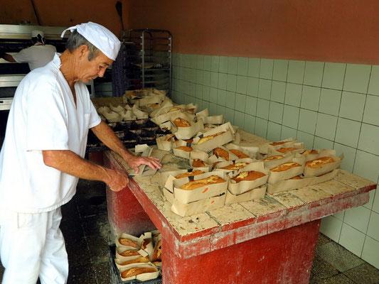 Beim Bäcker in Viñales