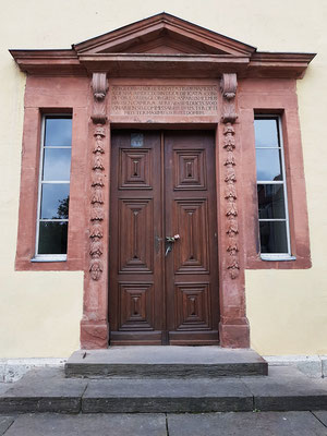 Eingang zu Goethes Wohnhaus