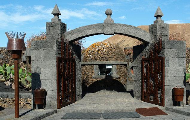 Guatiza. Jardín de Cactus, von César Manrique gestaltet, 1990 eröffnet