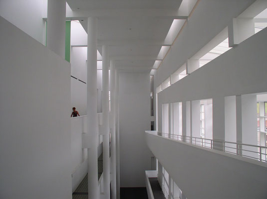 Museu d'Art Contemporani, El Raval (Architekt: Richard Meyer)