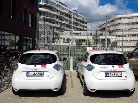 Die neue Zeit in Aarhus: Elektroautos