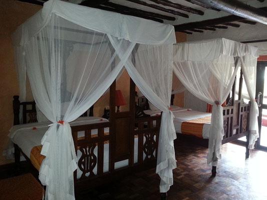 Zanzibar Beach Resort, dieses Zimmer teile ich mit Ernst