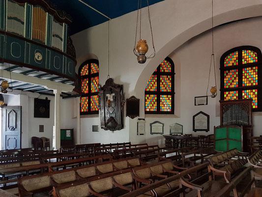 Innenraum der Niederländisch Reformierten Kirche