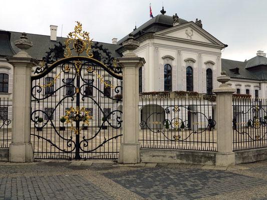 Palais Grassalkovich  (Präsidentenpalais), Sitz des Präsidenten der Slowakischen Republik