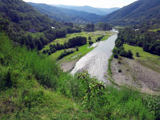 Talung nach Borjomi
