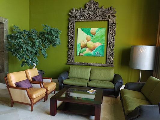Lopesan Villa del Conde Resort & Thalasso, Sitzecke in der Lobby