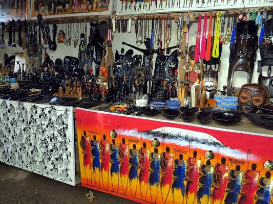 Auslagen der Kunsthandwerker