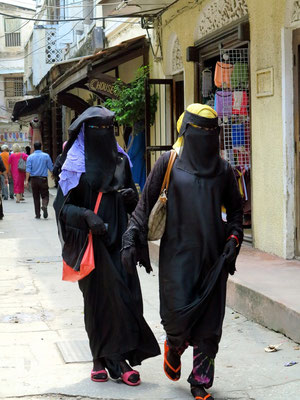 Mehr als 99 % der Bevölkerung Sansibars sind Muslime.