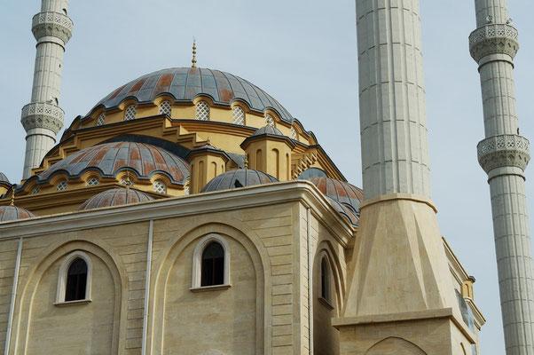 Külliye Moschee mit Zentralkuppel und Nebenkuppeln sowie vier Minaretten