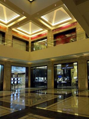 Luxusgeschäfte in der Opera Galleria