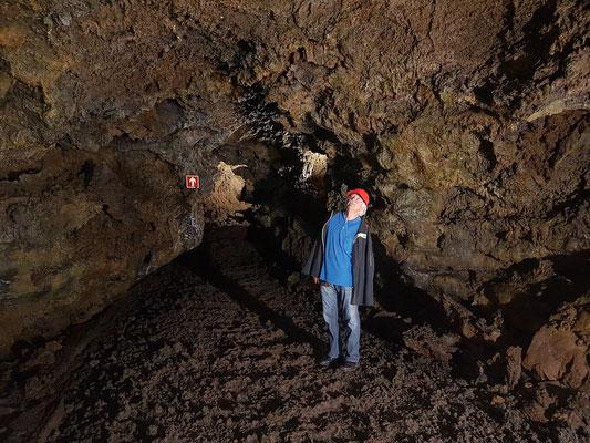 Gruta do Natal, eine tunnelähnliche, rund 675 m lange Grotte