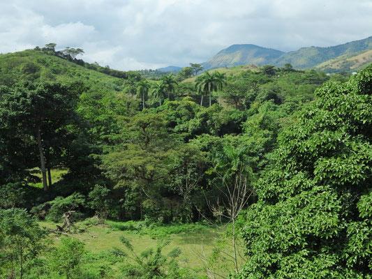 Nördlich von Santiago de Cuba