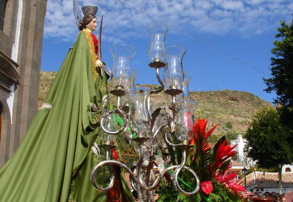 Santa Lucia, Fiesta mit Prozession am 13. Dezember 2005