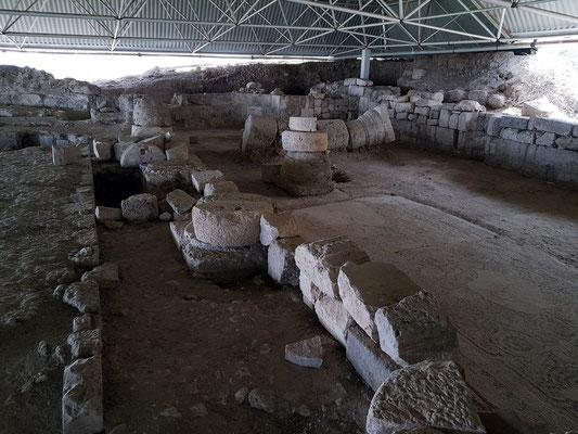 Ausgrabungen von Soli, Basilika