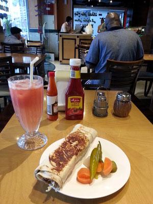 Lunch im Restaurant Shiraz Nights