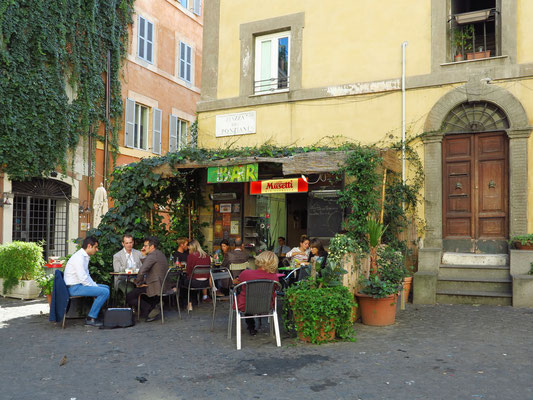 Bar Terra Satis in Trastevere