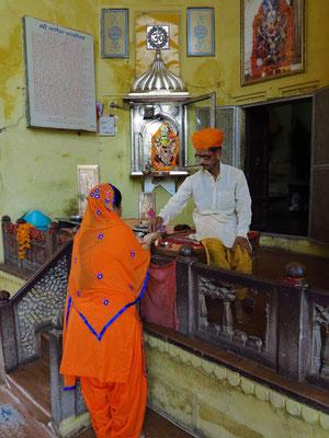 Hindutempel im Junagarh Fort (Garh Ganesh Temple)