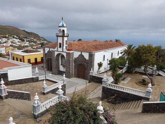 Valverde, dreischiffige Hauptkirche der Insel, Santa María de la Concepción aus dem 18. Jahrhundert