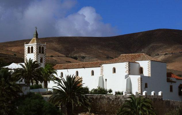 Betancuria, Kirche Santa María (um 1620), dreischiffiger Hallenbau