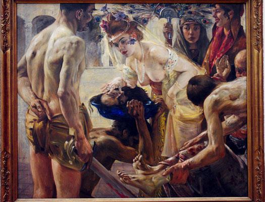 Lovis Corinth (1858-1925): Salome II, 1900