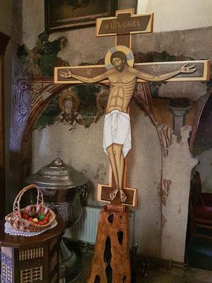 Kruzifix in der Kirche Praskvica