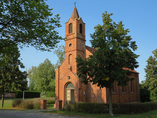 Altlewin, evangelische Kirche, erbaut 1882/1883