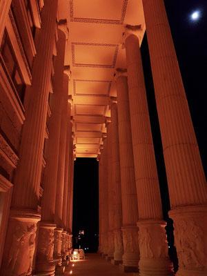 Südliche Kolonade des Artemis-Hotels
