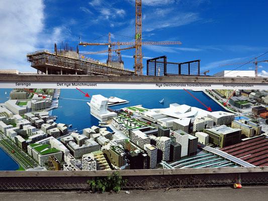 Baumaßnahmen im Hafen (Stand 2017)