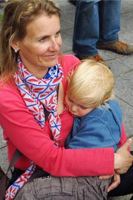 Kerstin Rother-Schäfer mit Alexander (3 Jahre) (17:20 Uhr)