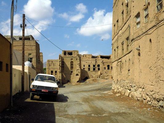 Lehmhäuser in Al Hamra