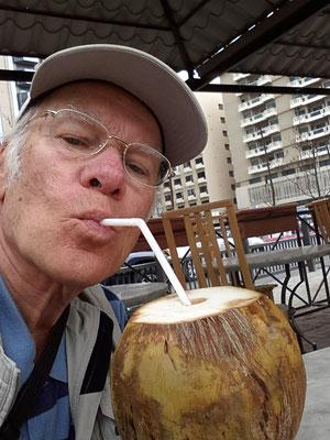 Kokosmilch als Durstlöscher