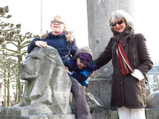 Mit Ricarda und Alexander in Maastricht, 04.04.2013