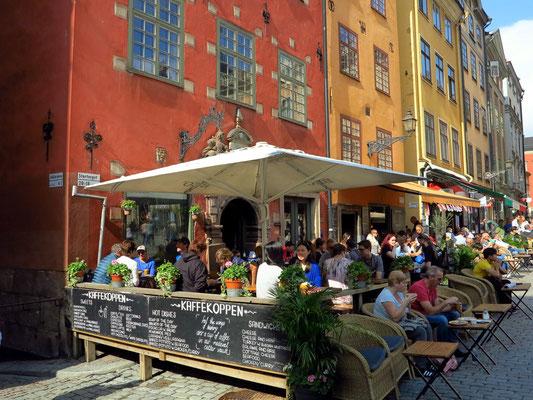 Platz Stortorget, Kaffekoppen