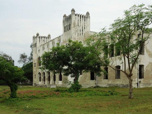 Bagamoyo. Alte Boma, Hauptsitz der kaiserlichen deutsch-ostafrikanischen Kolonialverwaltung