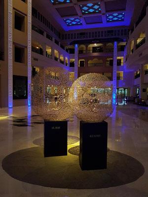 Steigenberger Al Dau Beach Hotel, Empfangshalle