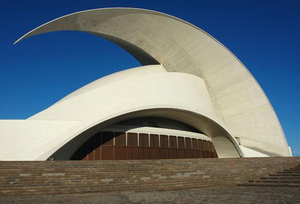 Auditorio de Tenerife (Architekt: Santiago Calatrava)