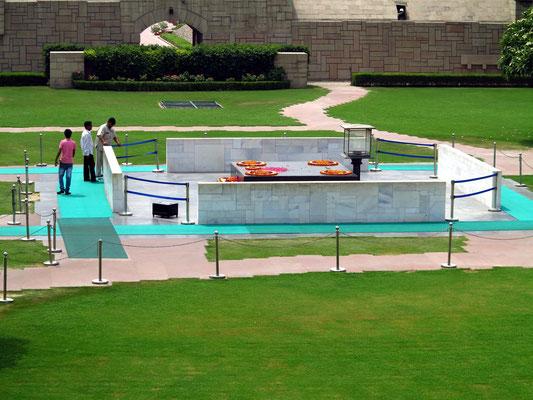Gedenkstätte von Mahatma Gandhi