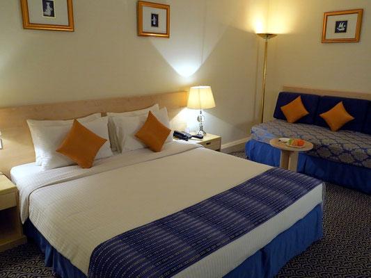 Mein Zimmer 704 im Ruwi Hotel
