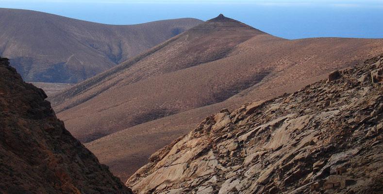 Badlands südwestlich von Vega de Río de las Palmas