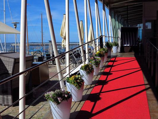Hotel Speicher Barth, Eingang vom Hafen