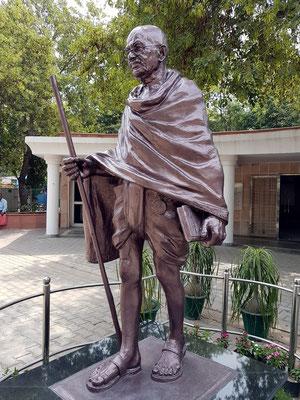 Skulptur von Mahatma Gandhi