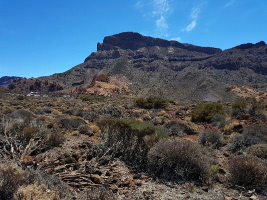 Montaña Guajara, höchster Berg der Caldera-Umrandung (2717 m)