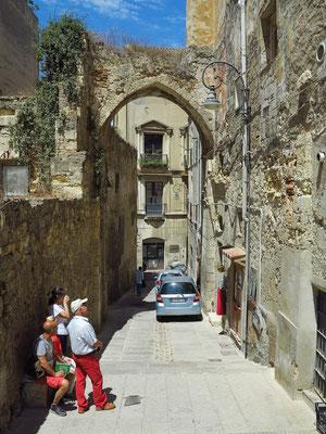 Treppengasse zum Palazzo Pippia-Manca