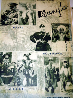 Blazej Pindor: Projekt 1945 - 1949, Collages of centrefolds and Covers of Przekroj magazine