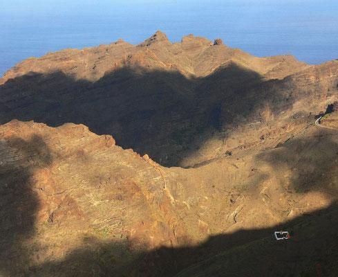 Blick vom Mirador del Santo bei Arure