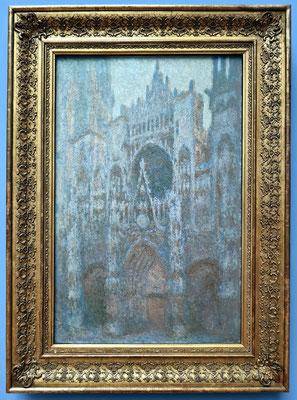 Claude Monet (1840-1926): Kathedrale von Rouen, ölhaltige Farben auf Gewebe, 1894
