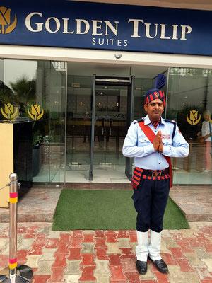Empfang im Hotel Golden Tulip Suites Gurgaon